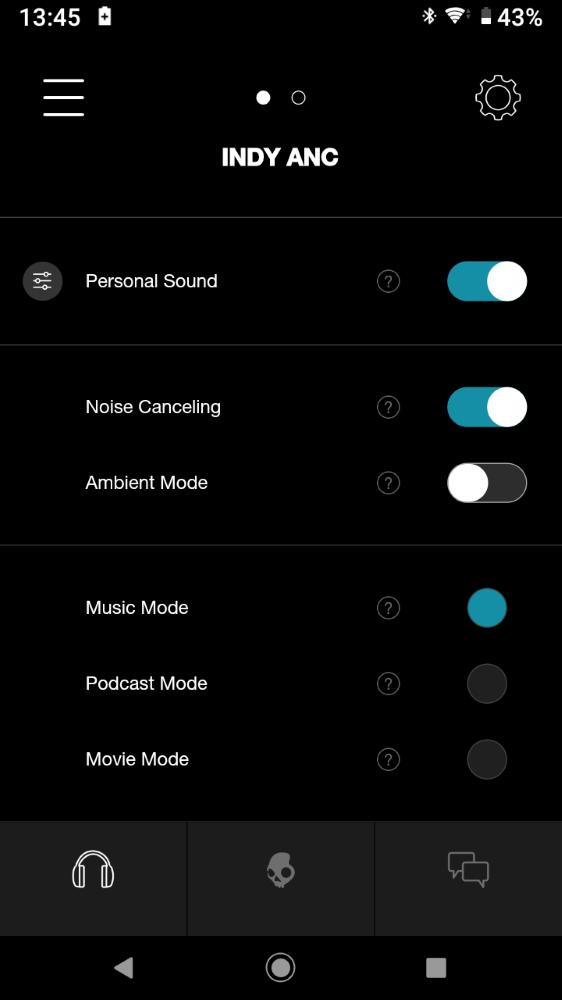 画像: 音声モードは3種類搭載する