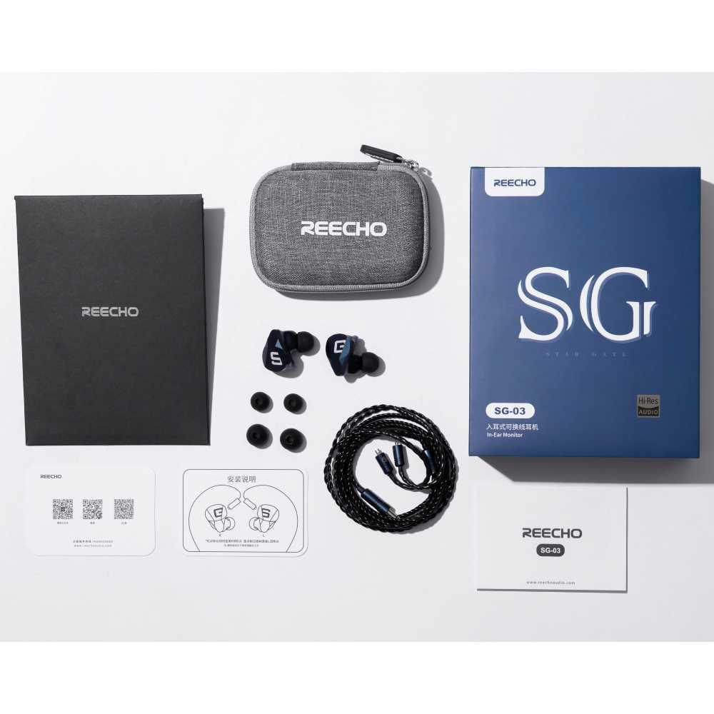 画像4: Reecho、重量感のあるアルミボディのユニバーサルIEM「SG-03」を4月10日に発売。ハイレゾ対応だけあって豊かな響き・余韻が印象的