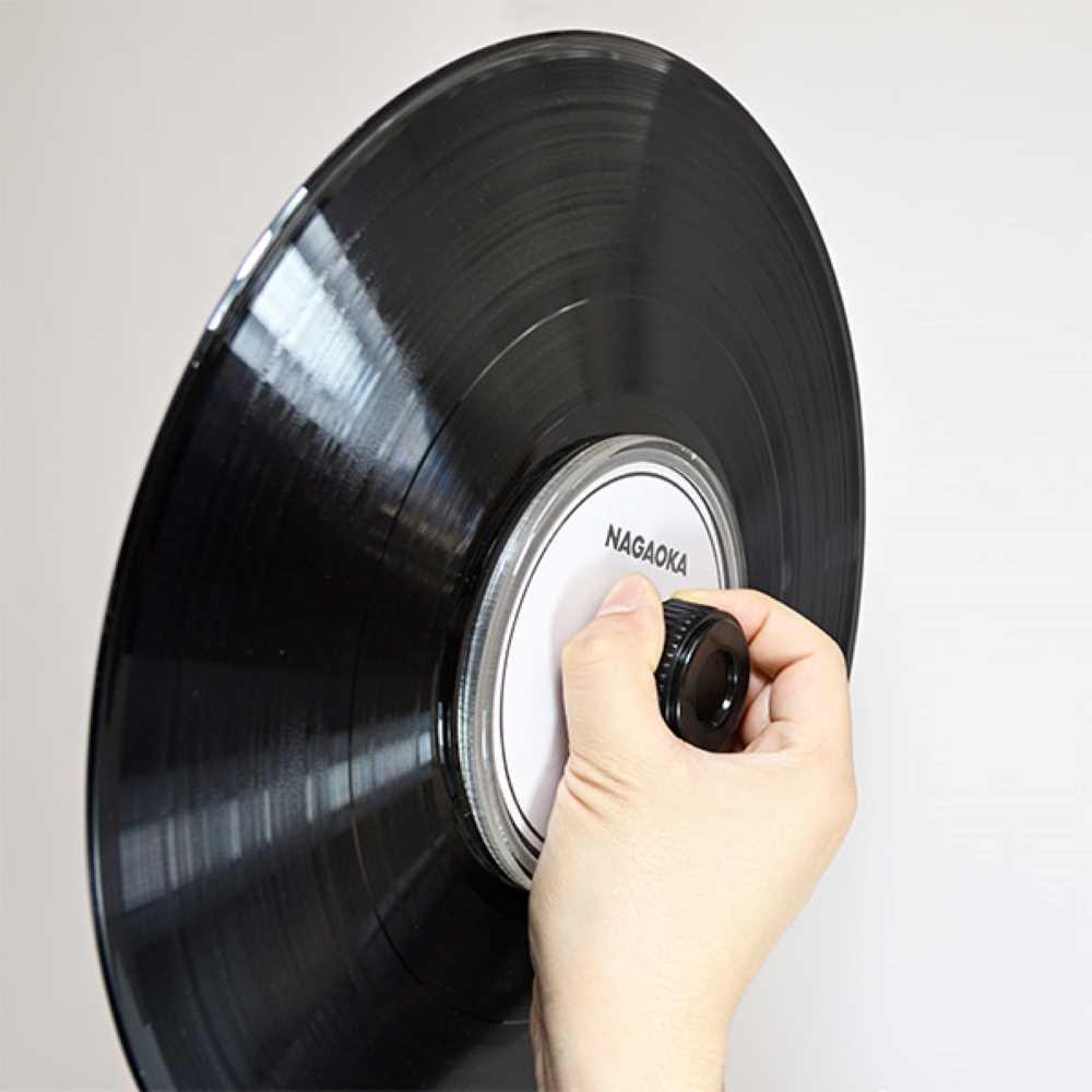 画像2: ナガオカ、アナログレコードを簡単に水洗いできるレコードクリーニング用ラベルプロテクター「CLP02」を4月9日に発売