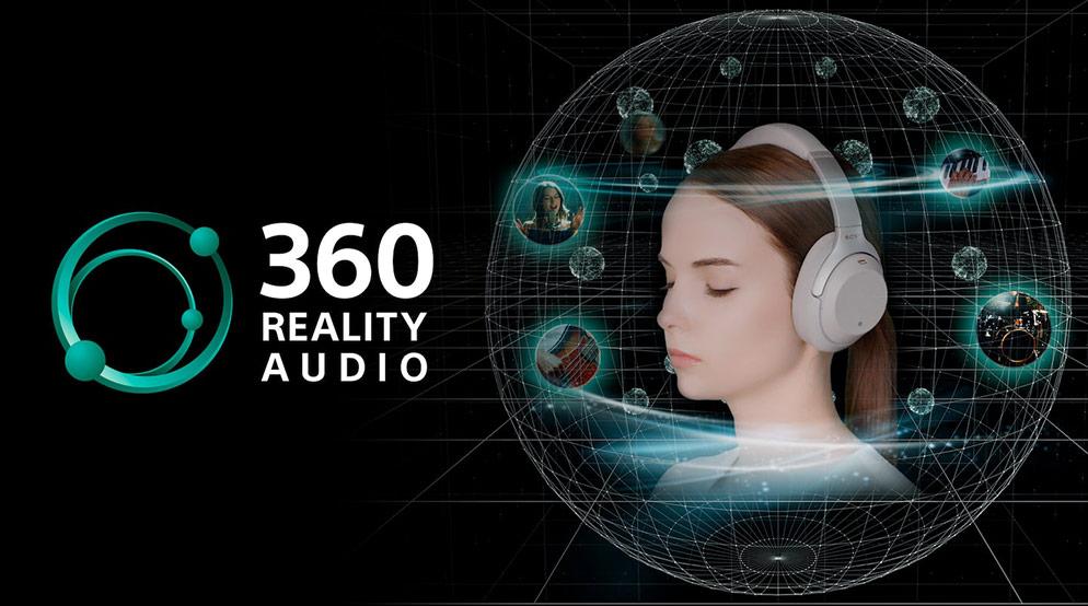 画像: 360 Reality Audio(サンロクマル・リアリティオーディオ)「全方位から音が降りそそぐ、新体験。」 | ヘッドホン | ソニー