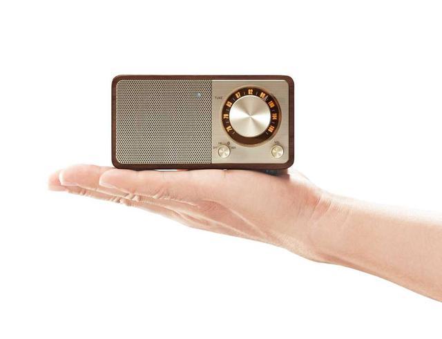 画像1: コペックジャパン、デスクトップにレトロな雰囲気を醸し出すFMラジオ/Bluetoothスピーカー「Sangean WR-301」に新色「チェリー/ダークグレー」を追加
