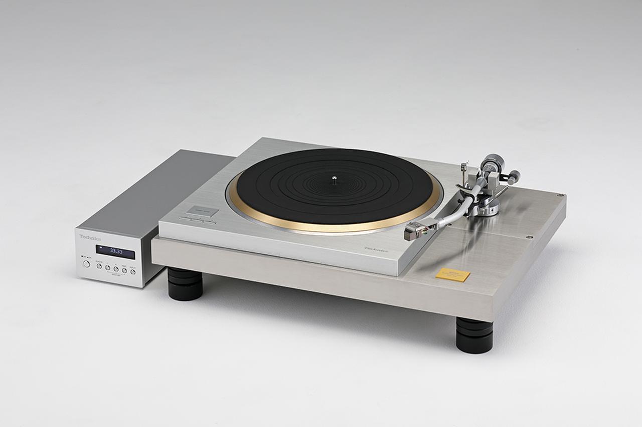 画像: Record Player Cabinet サエク SBX10R ¥880,000 ※受注生産 ●材質:ステンレス(S303)●寸法/重量:W540×H100×D380.5mm/35.8kg(本体のみ、プレーヤー含まず)●備考:写真のプレーヤー(テクニクスSP-10R)とトーンアーム(サエクWE4700)、カートリッジは付属しない。トーンアームWE4700用標準アームベース付属、別売の増設用アームブラケット(SAB-S1=ショートタイプ¥180,000、SAB-L1=ロングタイプ¥195,000)あり●問合せ先:サエクコマース(株)