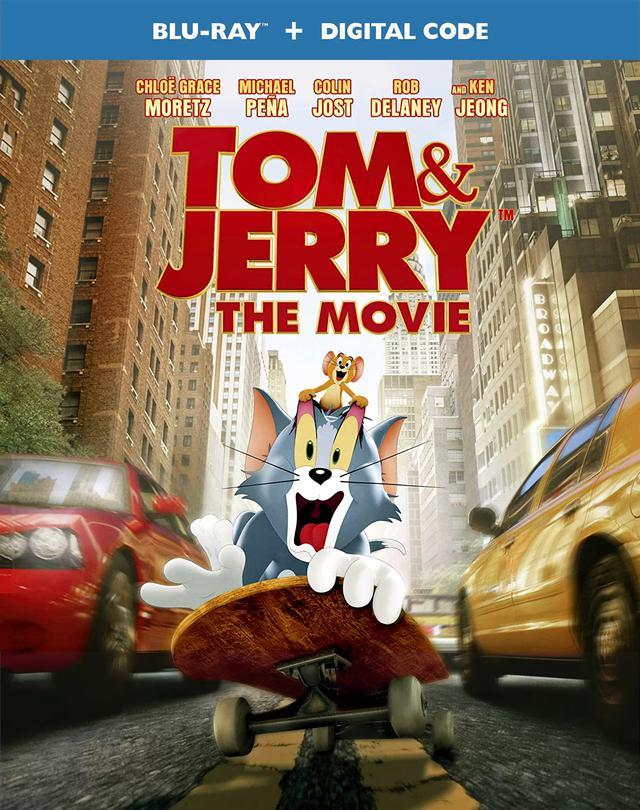 画像: 大人気アニメの実写映画化『トムとジェリー』【海外盤Blu-ray発売情報】