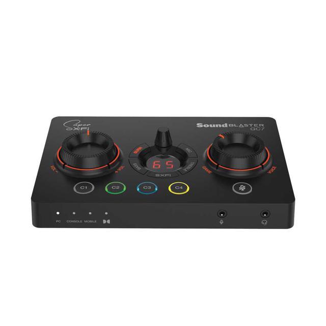 画像1: クリエイティブメディア、ゲームプレイを快適・簡単・高音質に楽しめるゲーミングUSB DACアンプ「Sound Blaster GC7」を4月中旬に発売