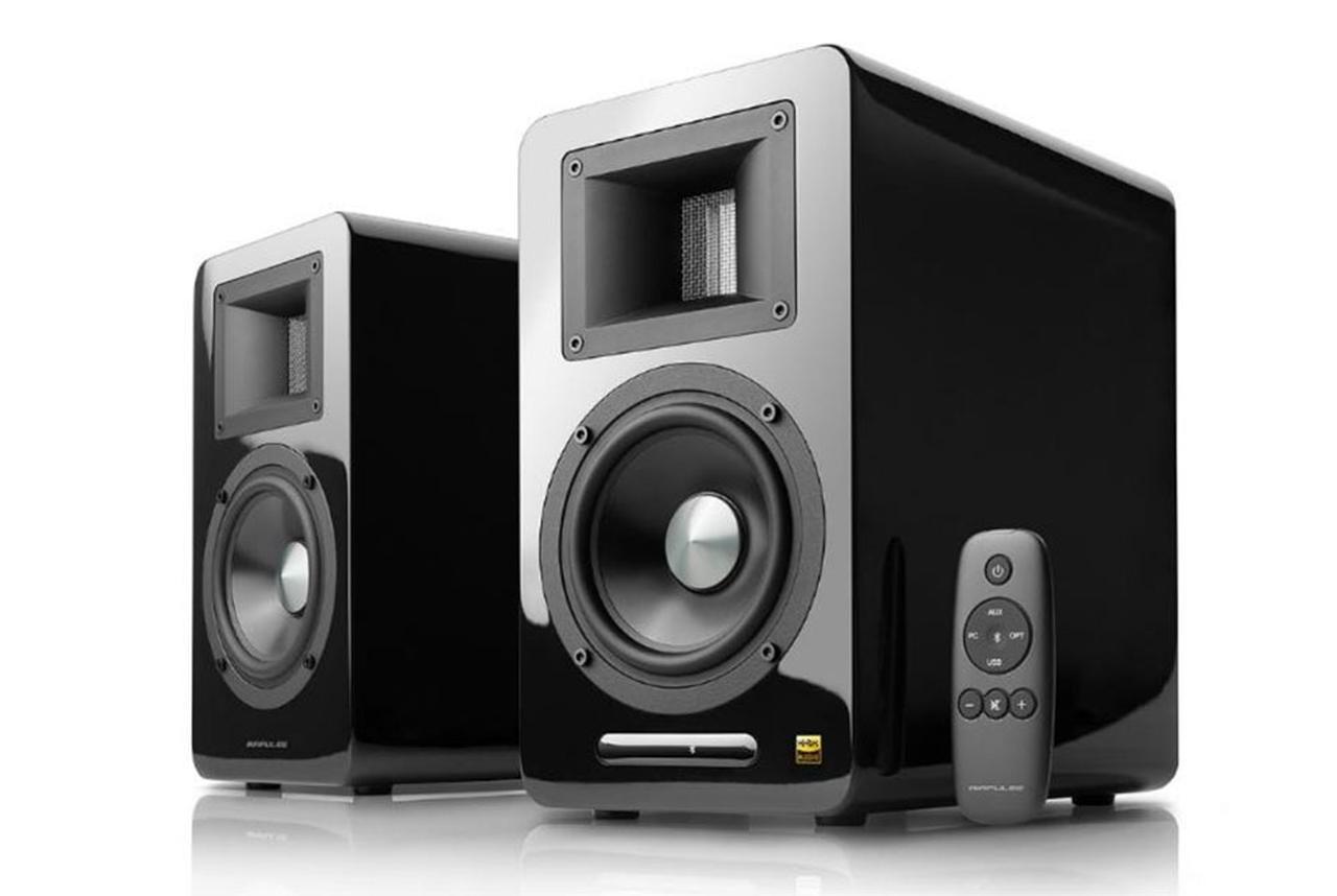 画像: エアパルスの、DAC内蔵アクティブ・スピーカー「A100 BT5.0」が4月に発売。127mmウーファーを新搭載し、ダイナミックな低域再現能力を身につけた - Stereo Sound ONLINE