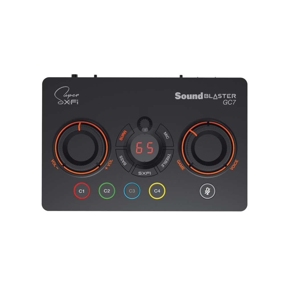 画像2: クリエイティブメディア、ゲームプレイを快適・簡単・高音質に楽しめるゲーミングUSB DACアンプ「Sound Blaster GC7」を4月中旬に発売