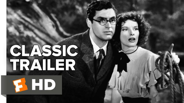 画像: Bringing Up Baby (1938) Official Trailer - Katharine Hepburn, Cary Grant Movie HD youtu.be