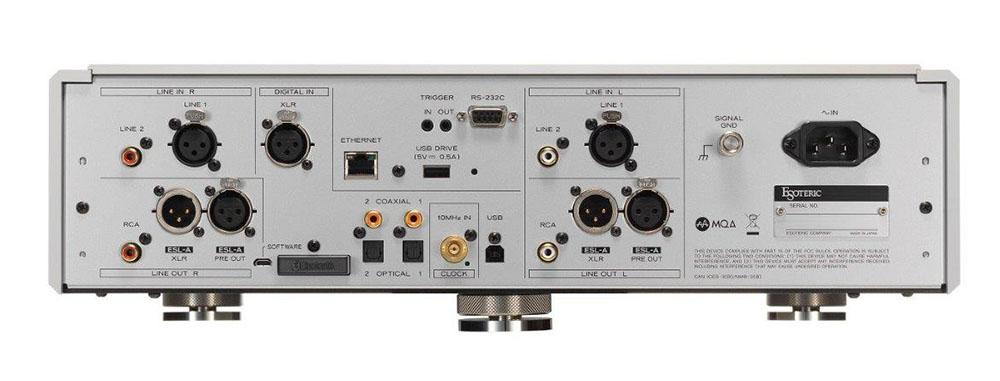 画像2: エソテリックの新世代プリアンプ「N-05XD」は5月1日発売。オーディオメーカーが創る、音楽再生のためのネットワーク回路に注目