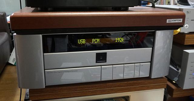 画像: 麻倉さんのホームシアターで配信コンテンツをチェック。まずはメリディアンのULTRA DACを使って192kHz/24ビット音声を再生した