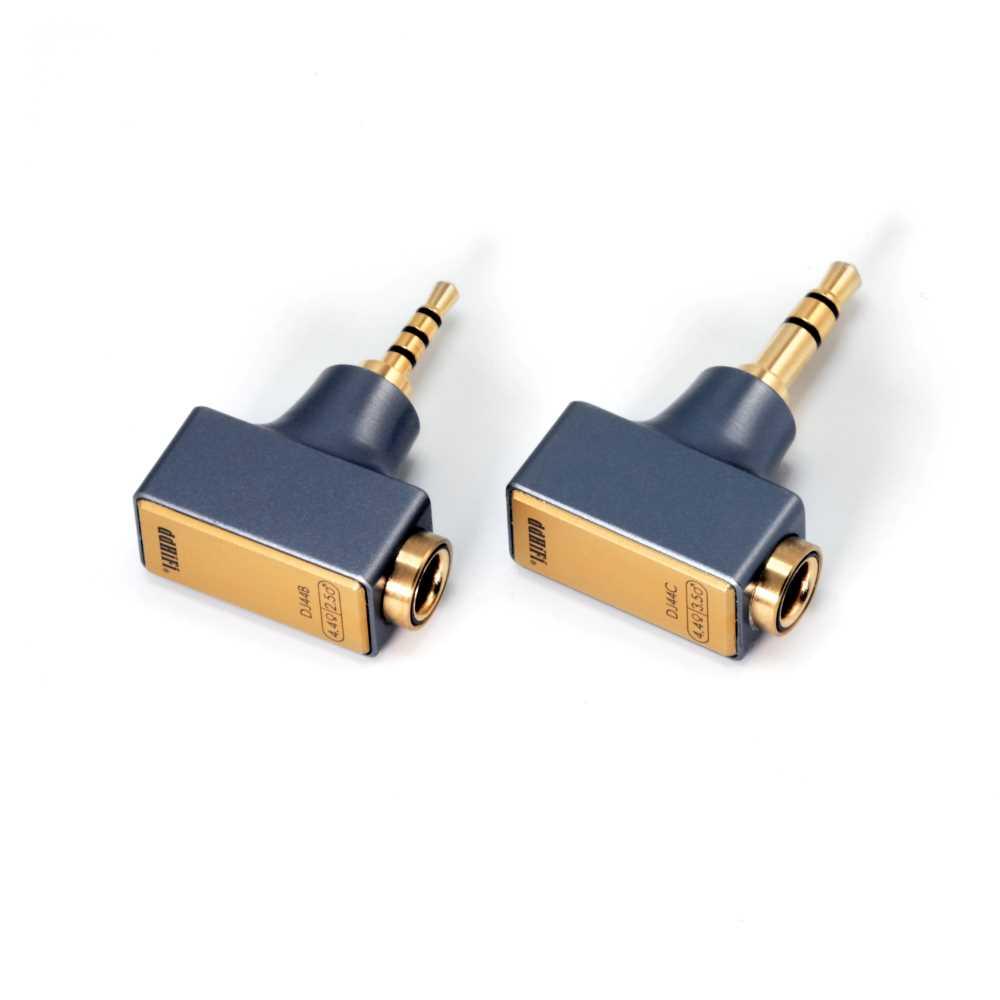 画像: 変換アダプター「DJ44B」(2.5mm)、「DJ44C」(3.5mm)