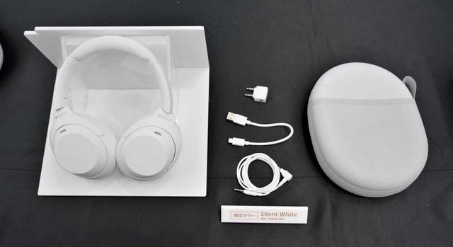 """画像2: ソニー、人気のノイズキャンセリングワイヤレスヘッドホンに限定カラー""""白""""をまとった「WH-1000XM4 サイレントホワイト」が5月28日に発売。再びLiSAとコラボ!"""