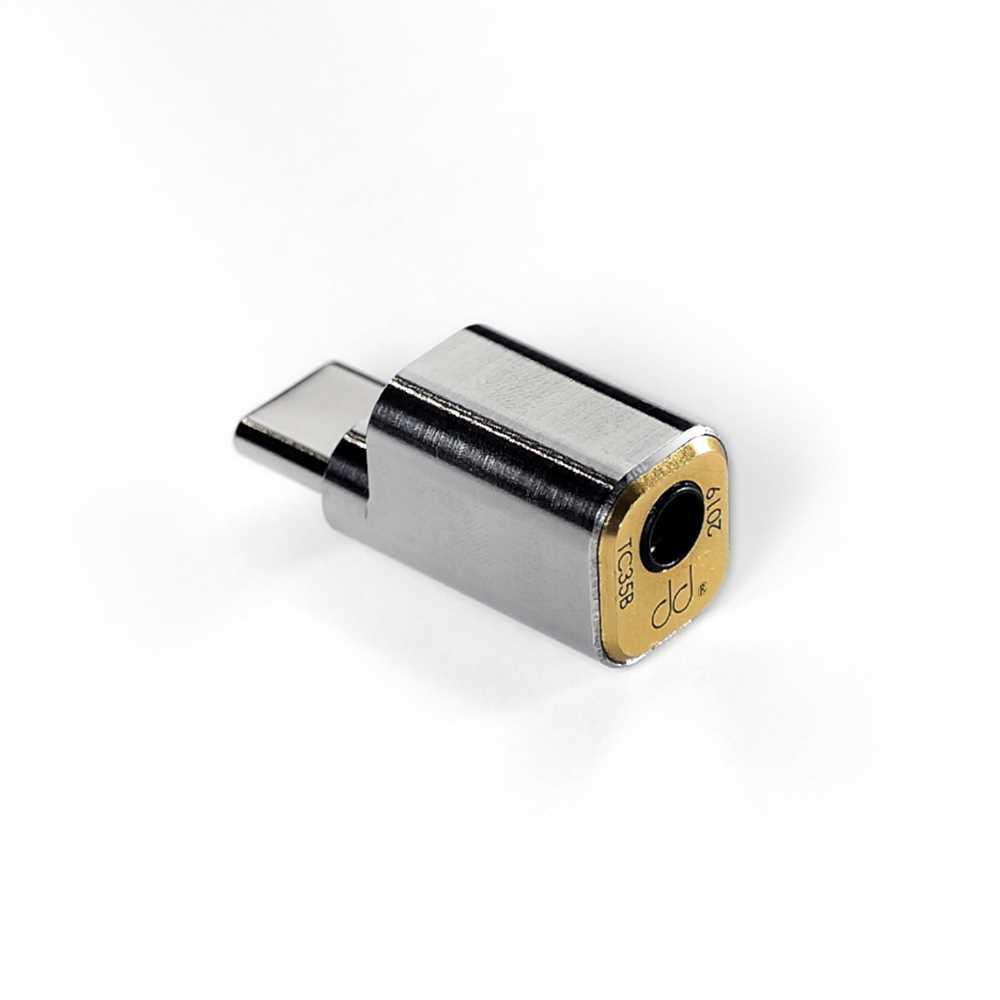 画像: 変換アダプター「TC35B」。写真はUSB Type-C仕様で、ほかにLightning仕様もラインナップする