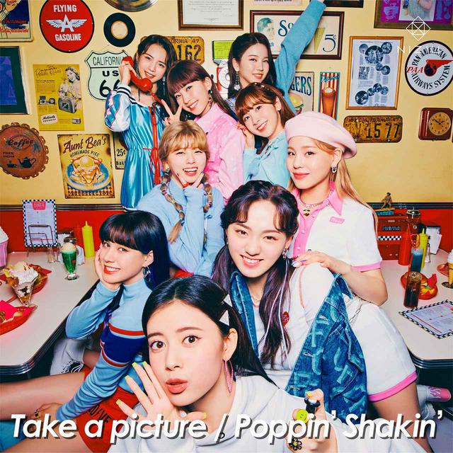 画像: Take a picture/Poppin' Shakin' / NiziU