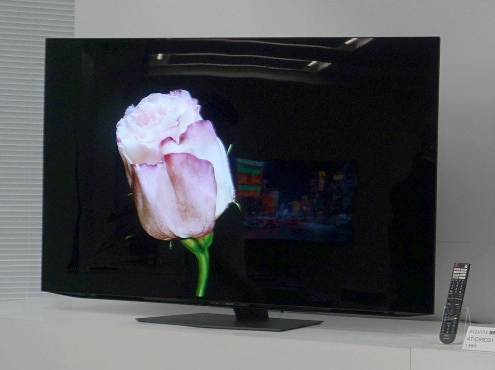 画像: 有機ELテレビの「4T-C65DS1」