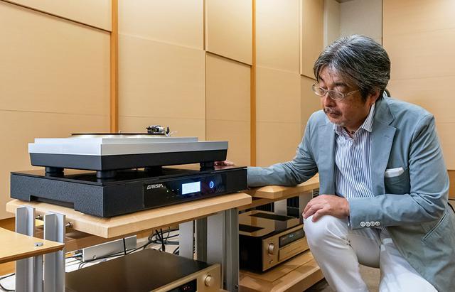 画像2: 振動を抑えると、レコードの音がここまで変化する! アクティブオーディオボードGRESIM「HIBIKI-65」の、精密産業用機器を趣味のオーディオ再生に活かした新しい試みとは