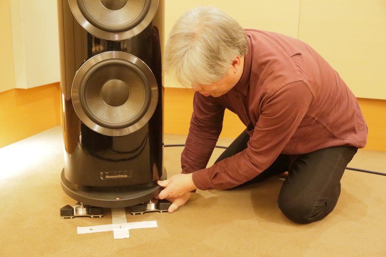 画像5: 巧みな吊り構造による高耐荷重インシュレーター。音楽描写のピントが合い躍動感ある伸びやかな音に。ウェルフロート「WELLDELTA」