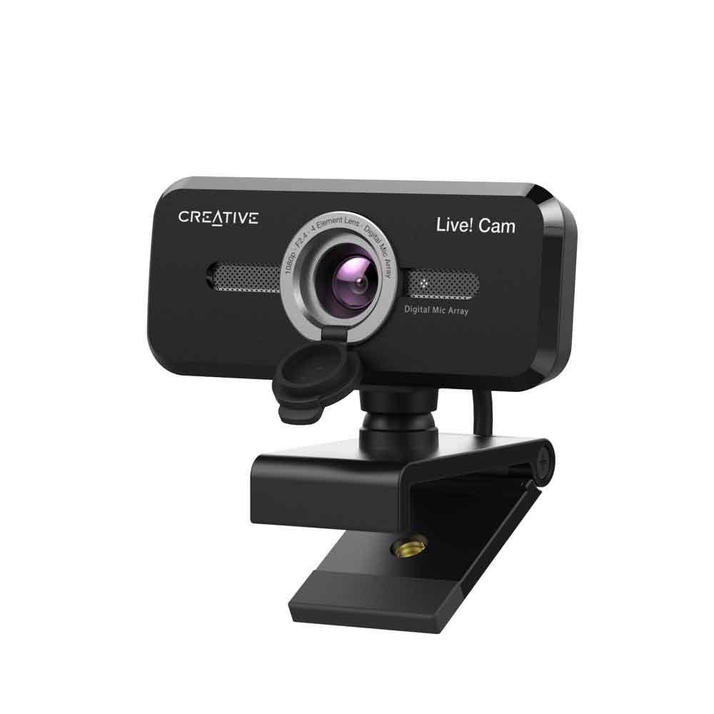 画像1: クリエイティブメディア、オンライン会議の画質・音質・操作性を向上させるwebカメラ「Creative Live! Cam Sync 1080p V2」を、4月末に発売