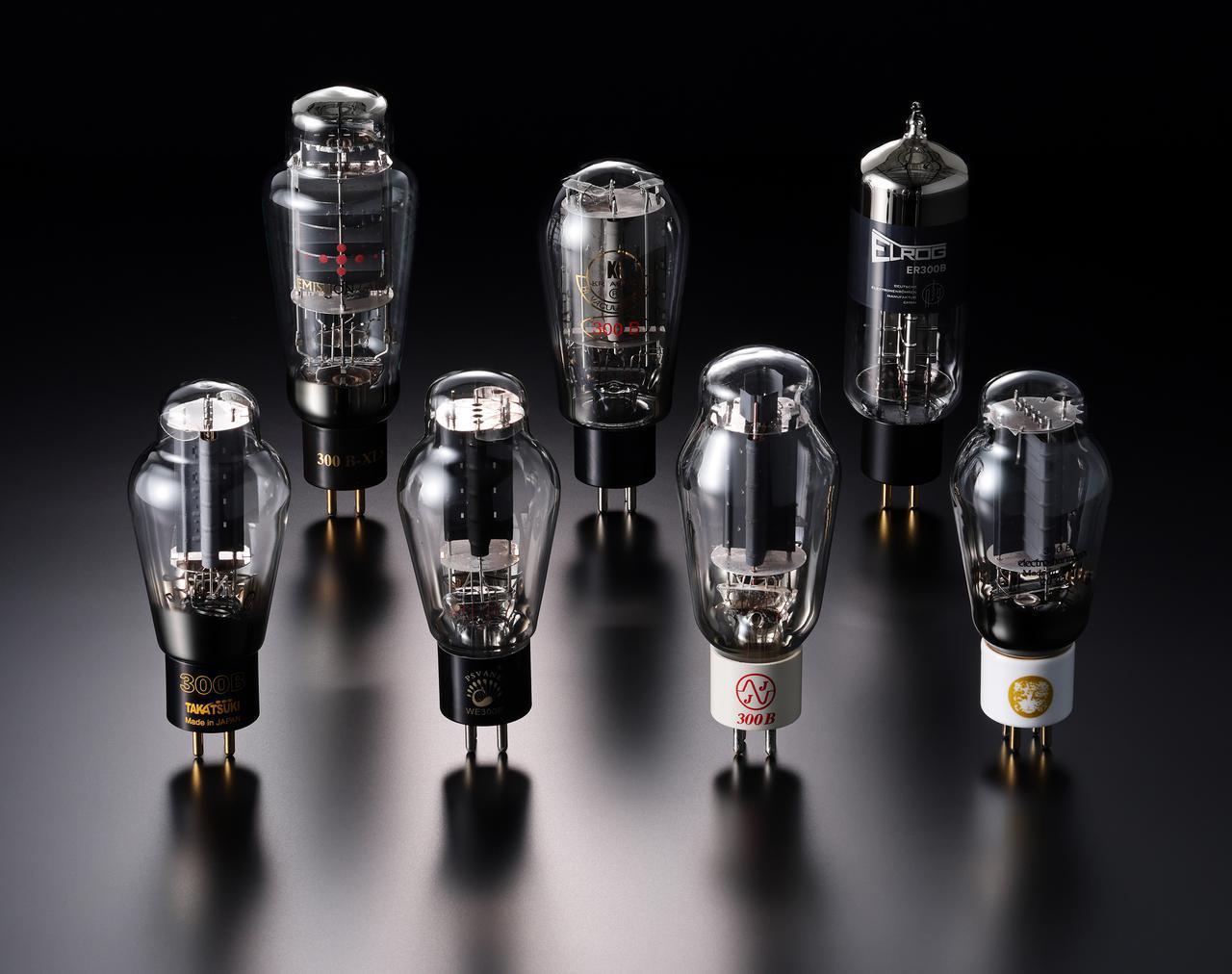 画像: 「実験工房」は「300B現行管の真価を探る 新旧18種聴き比べ」です。当代随一の人気を誇る300B真空管を、定評ある300Bシングルアンプを使って差し替え試聴します。現行管16種と米国ウェスタン・エレクトリックのオリジナル管などヴィンテージ管、計18種の試聴です。テスターは新 忠篤氏、真空管研究家の岡田 章氏、秋葉原の専門店に所属され管球式アンプの設計やメインテナンスで多くのノウハウを持つ児玉眞一郎氏の3氏です。