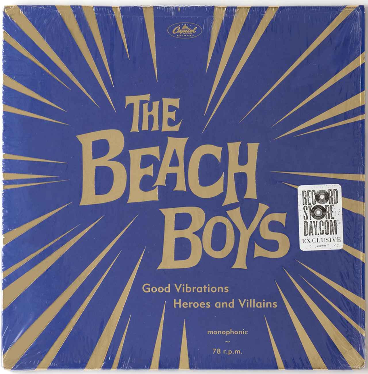 画像: Good Vibrations/Heroes And Villains』 The Beach Boys LP(Capitol Records 509990 98341 18)10インチ・2枚組