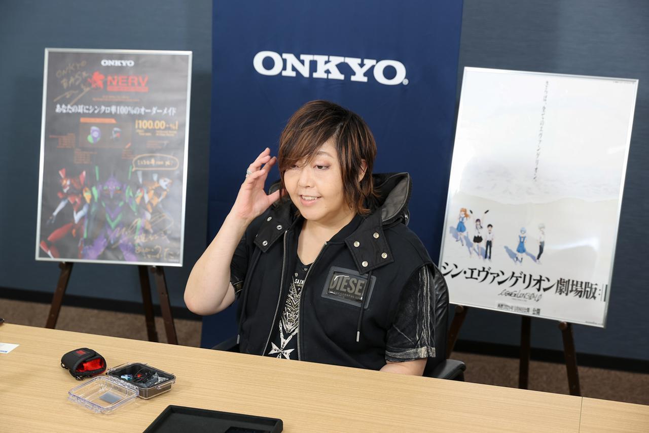 画像1: ONKYO DIRECT「ONKYO Custom In-ear Monitors エヴァンゲリオンコラボモデル」