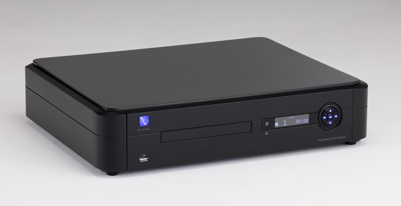 画像: 米国のPSオーディオ製SACDドライブ。意欲的な最新手法でデジタル音源を引き出し、純正組合せでは精密緻密な鮮度際立つ、濃厚かつ3次元的な展開