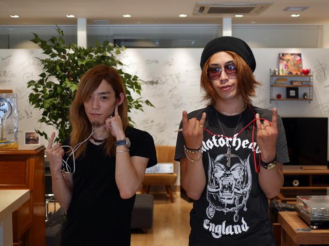 画像: 取材にご協力いただいたGYZEのArutaさん、Shujiさんありがとうございました