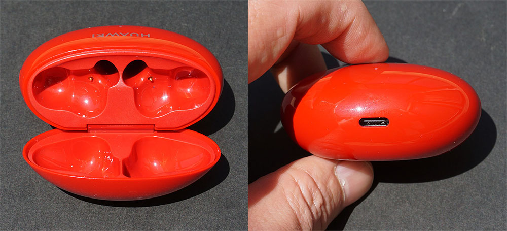 画像: 充電はケーブ下部のUSB Type-Cコネクターで行うタイプで、Qiには非対応
