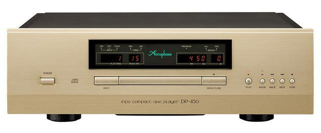 画像1: アキュフェーズ「DP-450」が6月に発売。上位モデルで培った技術が惜しみなく投入された、高品質CD専用プレーヤーに注目