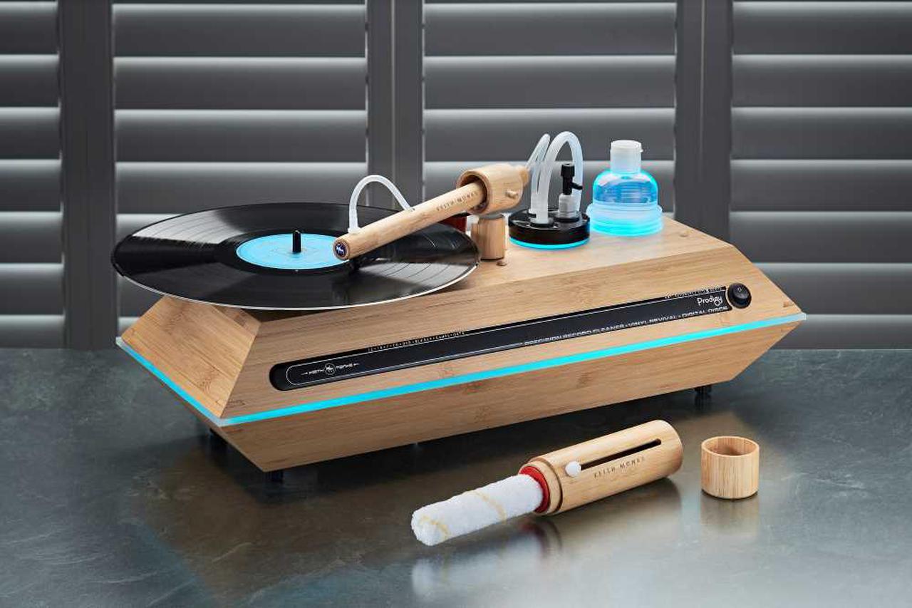 画像: タクトシュトック、英国キース・モンクのレコードクリーナ―「Prodigy」を5月15日に発売。価格は¥195,800 - Stereo Sound ONLINE