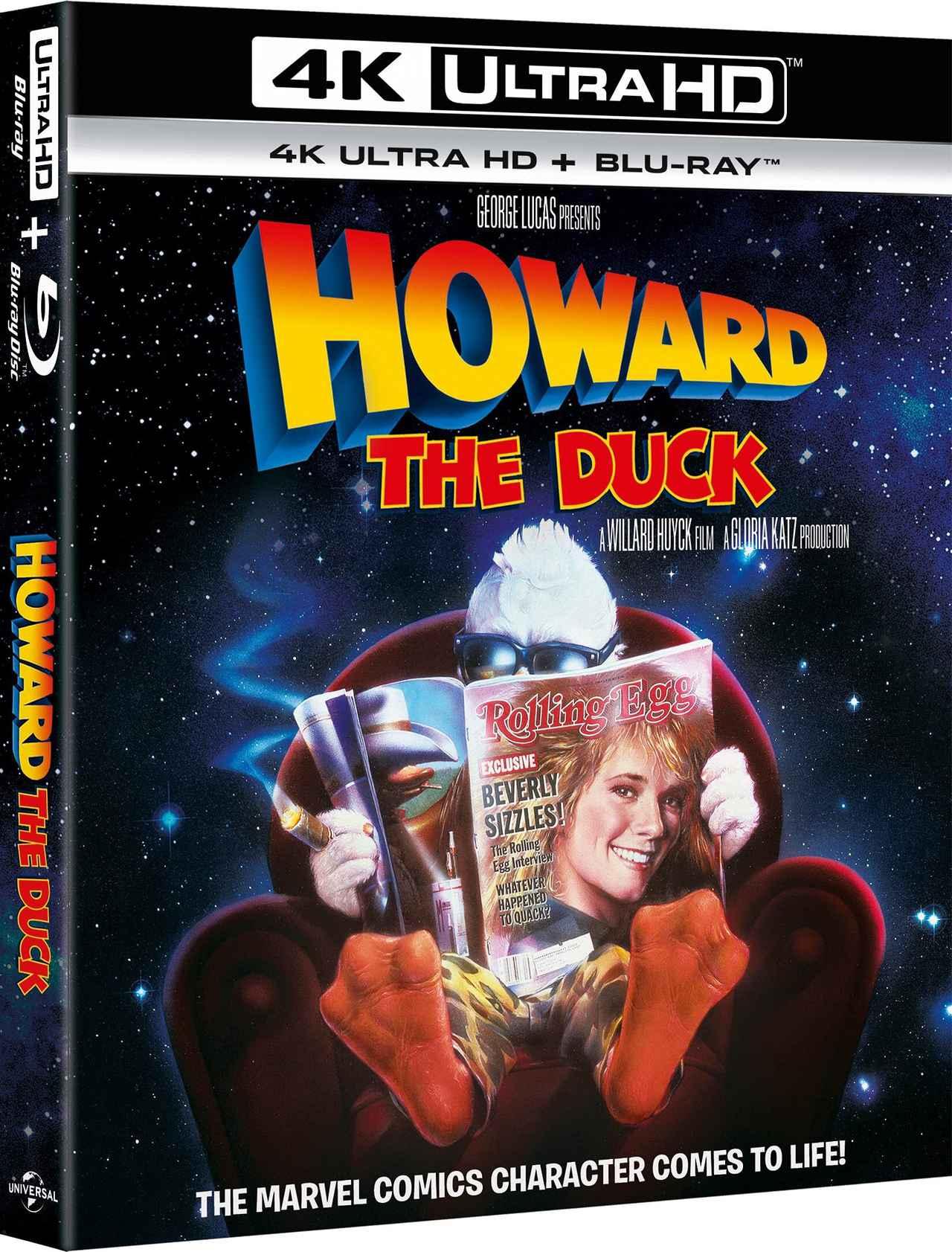 画像1: 【Update】G・ルーカス製作SF活劇が4K化『ハワード・ザ・ダック/暗黒魔王の陰謀』【海外盤Blu-ray発売情報】
