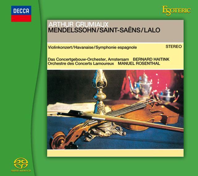 画像: メンデルスゾーン:ヴァイオリン協奏曲、サン=サーンス:ハバネラ、ラロ:スペイン交響曲(SACD/CDハイブリッド)ESSD-90241 ※予約商品・6月10日頃より発送予定