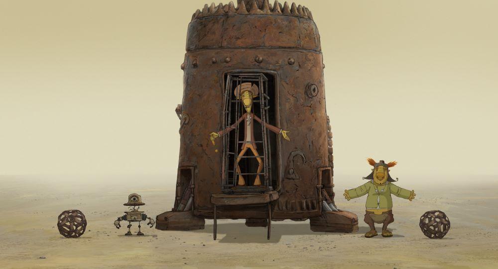 画像1: 【コレミヨ映画館vol.55】『クー! キン・ザ・ザ』日本よ、これが映画だ(よね)。脱力系SF映画の傑作が奇跡のアニメーション化!