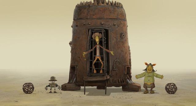 画像1: 【コレミヨ映画館vol.54】『クー! キン・ザ・ザ』日本よ、これが映画だ(よね)。脱力系SF映画の傑作が奇跡のアニメーション化!