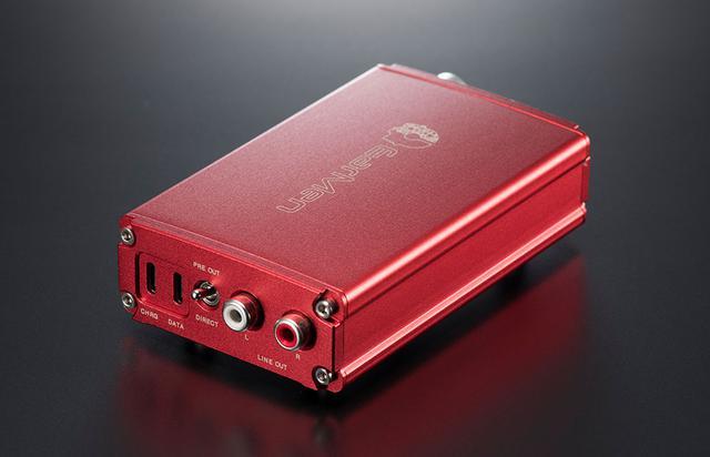 画像2: DSDやMQA対応USB DACとしても使えるポータブルプリアンプ「TR-Amp」。設計・製造のすべてをヨーロッパで行うEARMENブランドの新製品