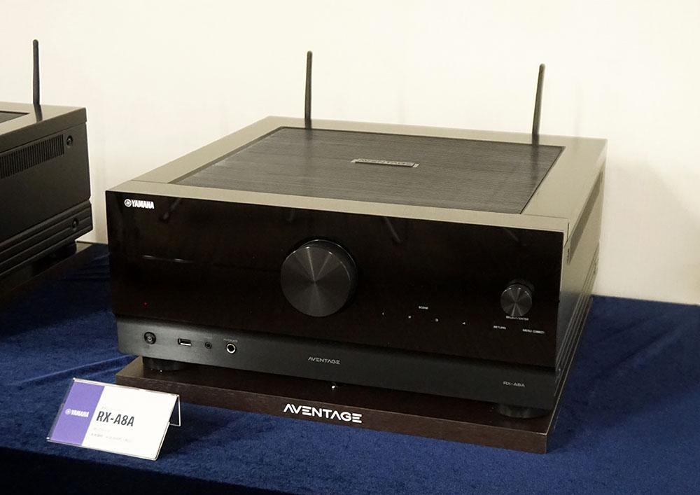 画像: 11chパワーアンプ内蔵の「RX-A8A」