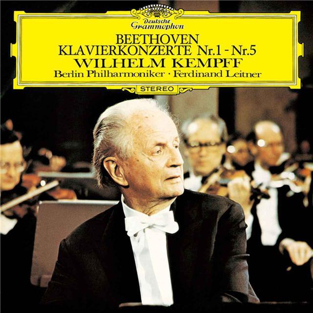 画像: ベートーヴェン: ピアノ協奏曲全集/ヴィルヘルム・ケンプ