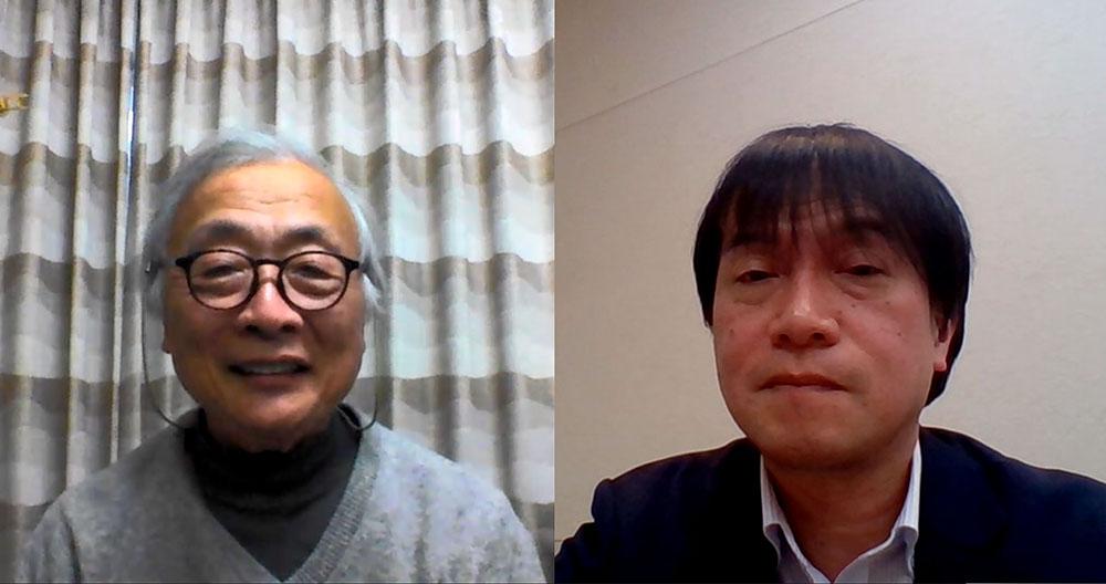 画像: 今回は、SID会長の辻村隆俊さん(右)にリモートインタビューをお願いしている