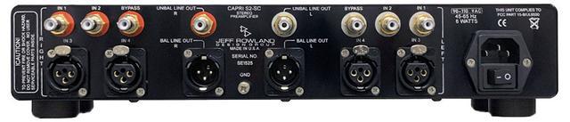 画像2: ジェフ・ロゥランドの新製品プリアンプ「Capri SC」が登場。電源部や回路基板をリニューアルし、パワーノイズを大幅に低下させることに成功