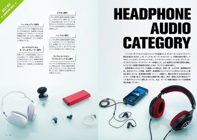 画像: ↑ポータブルオーディオを対象とするのが「ヘッドホンオーディオカテゴリー」。本当に音のいい完全ワイヤレスイヤホンがわかります