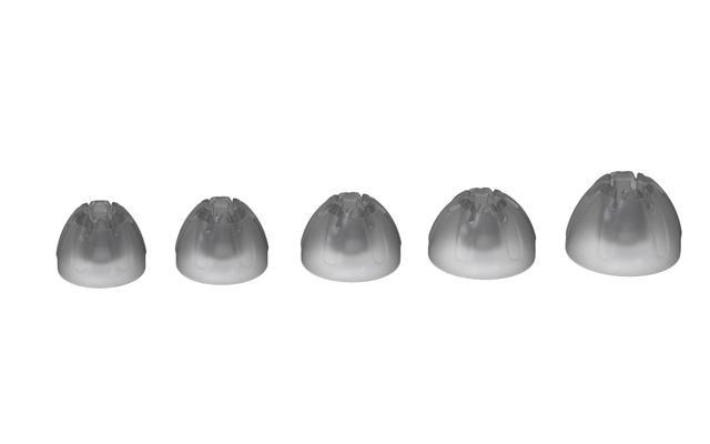 画像: ▲低遮音イヤーピース。5サイズを同梱する