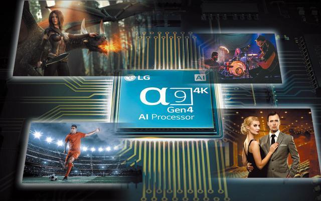 画像: 映像エンジンに新規「α9 Gen4 AI Processor 4K」を搭載。従来のエンジンをベースに、「シーン検出」機能を追加、映像が表示されているシーンに最適な映像表示を行なう。さらに音響面の「オートボリュームレベリング」や5.1.2構成の「アップミックス」処理も本チップが司る