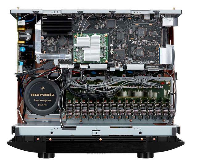 画像2: マランツの最上級AVプリアンプ「AV8805A」は6月上旬に発売。8K/60pや4K/120p信号の入出力に対応し、オーロ3Dのイマーシブサウンドも楽しめる