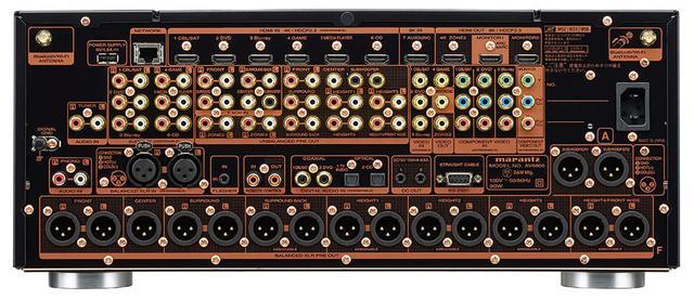 画像3: マランツの最上級AVプリアンプ「AV8805A」は6月上旬に発売。8K/60pや4K/120p信号の入出力に対応し、オーロ3Dのイマーシブサウンドも楽しめる