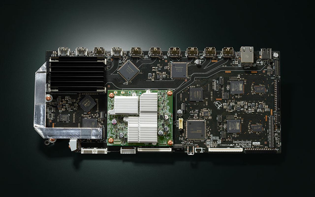 画像: 8K信号に対応したHDMI基板