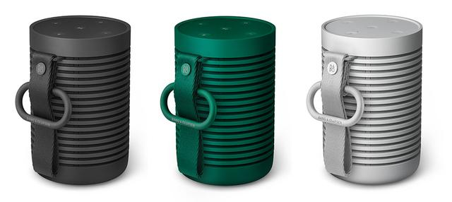 画像: 左からBlack Anthracite、Green、Grey Mist