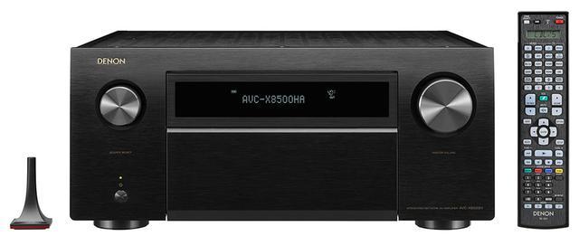 画像1: デノン一体型AVセンターに「AVC-X8500HA」が加わる。8K/60や4K/120p信号にも対応した13.2chパワーアンプ内蔵機で、6月中旬の発売予定