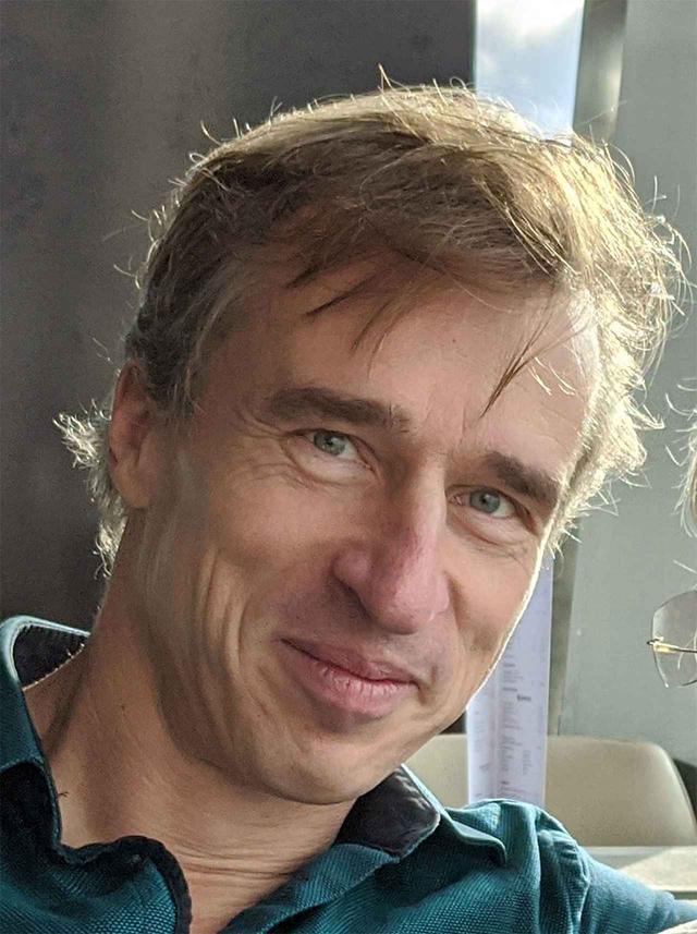画像: クリエイティブ・プロデューサーのクリストフ・フランケさん。今回はメールで質問内容をお送りし、それに文書で答えていただいている