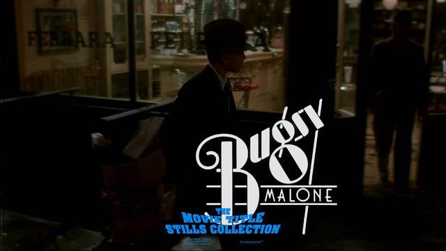 画像: Bugsy Malone (1976) title sequence youtu.be