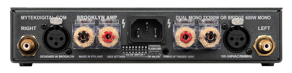 画像2: Mytek Digitalのステレオパワーアンプ「Brooklyn AMP+」が本日発売。デジタルアンプモジュールに磨きをかけ、さらなる高音質を実現