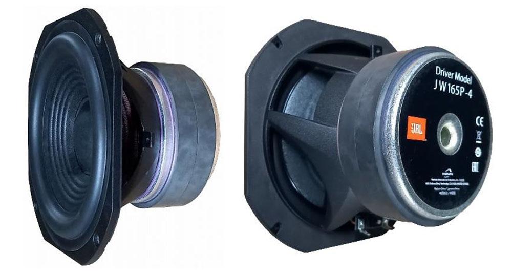 画像: 165mmピュアパルプ・コーン型ウーファー「JW165P-4」を搭載する